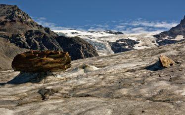 Castner Glacier in the Alaska Range