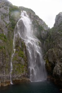 Waterfall in Northwestern Fjord - Kenai Fjord National Park