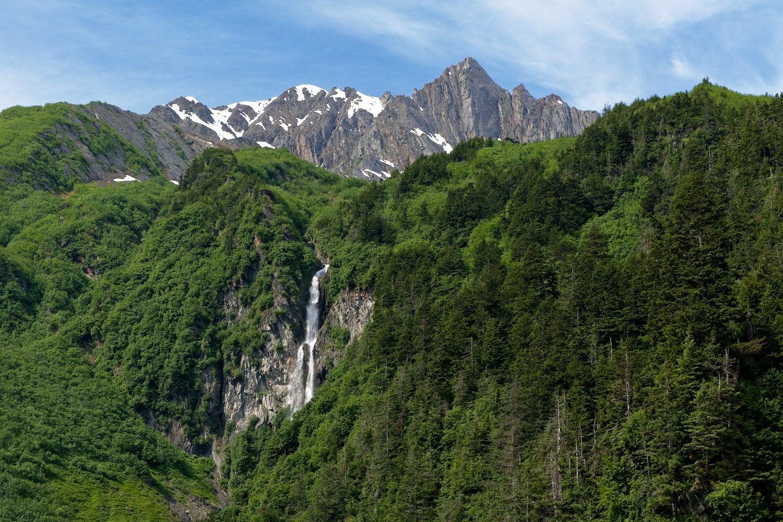 Anderson Falls near Valdez, Alaska