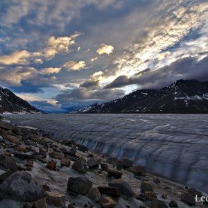 Black Rapids Glacier Print